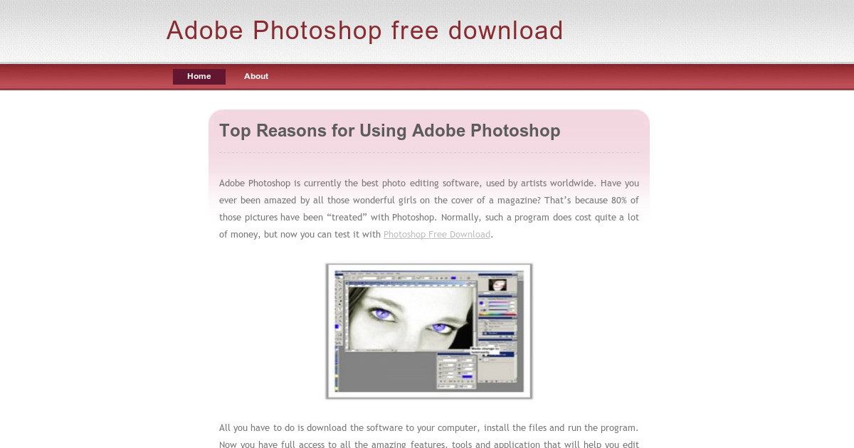free trial of adobe photoshop