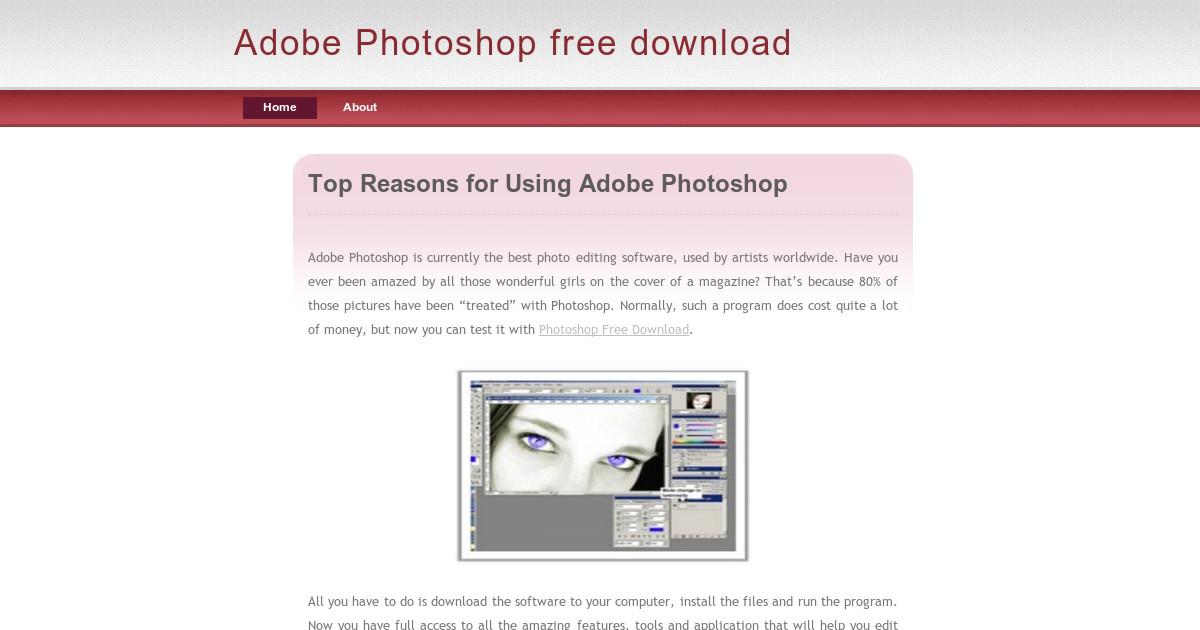 adobe photoshop freie version